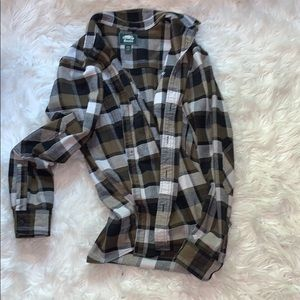 Roots plaid jacket